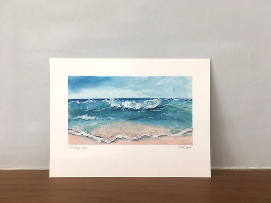 Catching Waves (small print)