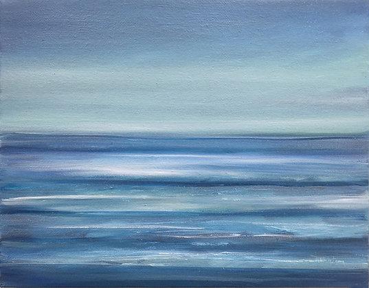 'Sail Away' (Oil on canvas) 25.5 x 20 cm