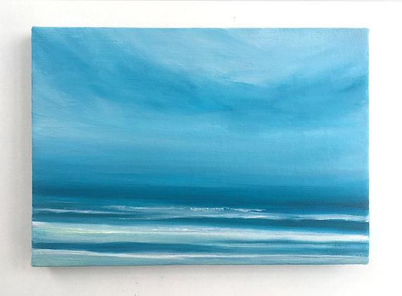 'Summer Isles' (Oil on canvas) 18 x 13 cm