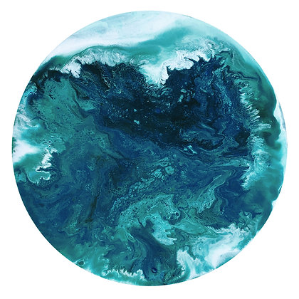 Moon of Neptune (medium print)