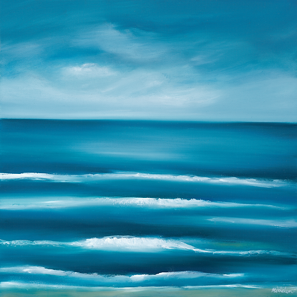 'Turquoise Tides' (Print) 2 sizes listed