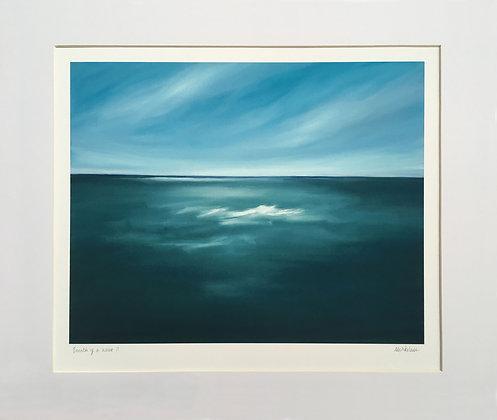 Breath of a Wave II (medium print, with mount)