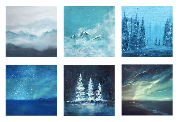 The Winter Collection (Pack of 6)