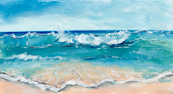 'Catching Waves' (Print) 2 sizes listed