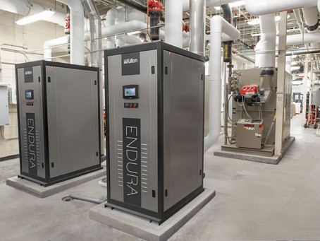 CiTi (Center for Instruction, Technology & Innovation) New Boilers Keep Vocational Education Campus