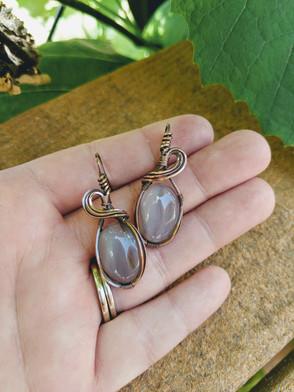 Medium Agate Earrings