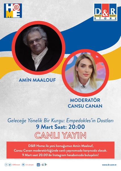 Dünyaca ünlü yazar Amin Maalouf, Türk hayranlarıyla D&R Home'da buluşmaya hazırlanıyor