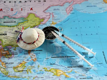 Yurt dışı seyahatler için aşıya hazırlık yapılıyor