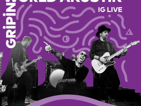 """""""Gripin"""" bu hafta World Akustik sahnesinde"""