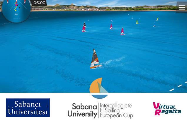 Sabancı Üniversitesi'nde e-sailing şampiyonası