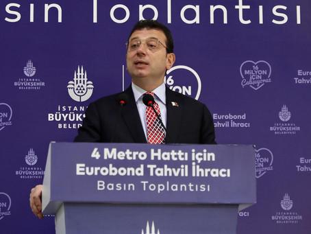 İBB'den bir ilk: 580 milyon dolarlık Eurobond Tahvil İhracı