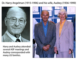 Dr Harry Angelman & His Wife Audrey