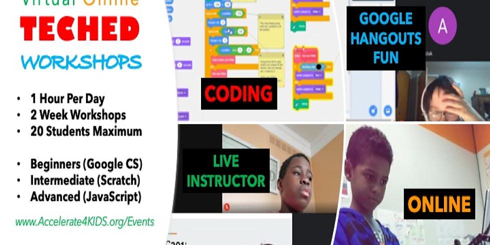 Intermediate Coding Workshop - CLOSED