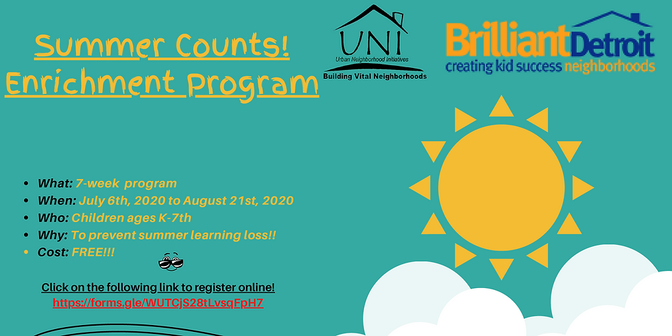 Summer Counts! Enrichment Programs For K-7