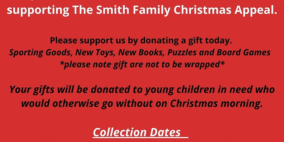 The Smith family Toy and Book Xmas appeal