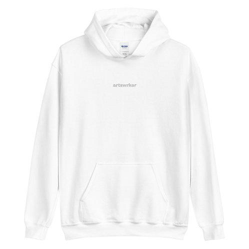 Artswrk | Unisex Monochrome Hoodie (White)
