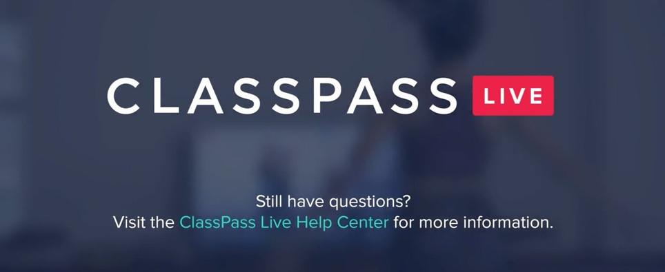 Classpass Live