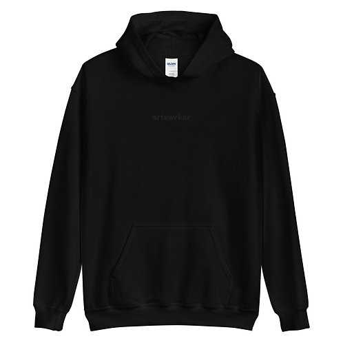 Artswrk   Unisex Monochrome Hoodie (Black)