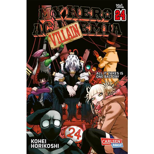 My Hero Academia - Band 24 (Manga | Carlsen)