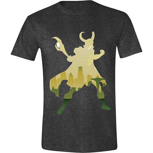 Marvel - Loki Silhouette (T-Shirt | Unisex S - 2XL)