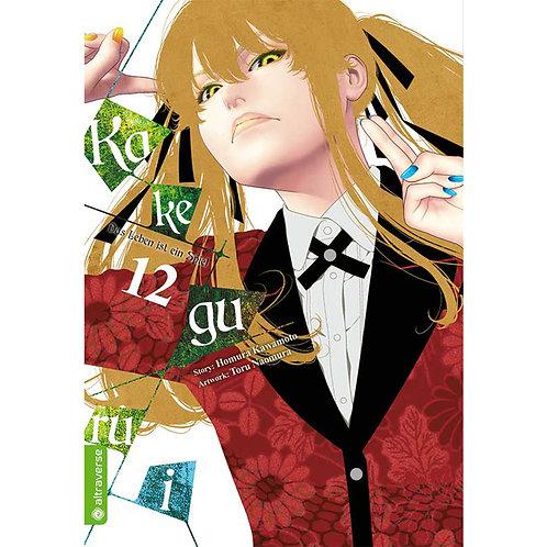 Kakegurui – Das Leben ist ein Spiel - Band 12 (Manga   altraverse)