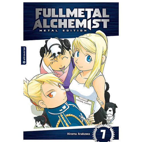 Fullmetal Alchemist Metal Edition - Band 7 (Manga | altraverse)