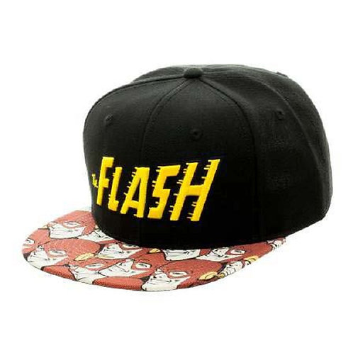 The Flash - Retro Logo - DC Comics (Snapback)