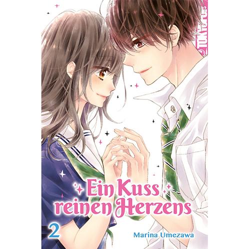 Ein Kuss reinen Herzens - Band 02 [Abschlussband] (Manga | TokyoPop)
