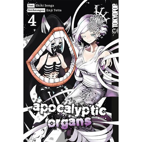 Apocalyptic Organs - Band 4 (Manga | TokyoPop)