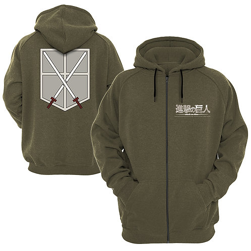 Attack On Titan - Cadet (Zipped Hoodie)
