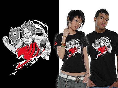 Fairy Tail - Natsu Cloud (T-Shirt - Unisex)