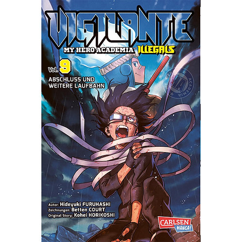 Vigilante - My Hero Academia Illegals - Band 9 (Manga | Carlsen Manga)