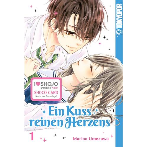 Ein Kuss reinen Herzens - Band 01 (Manga | TokyoPop)