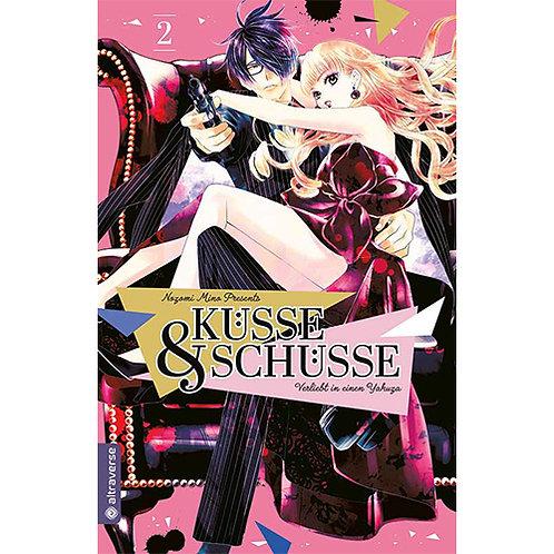 Küsse & Schüsse – Verliebt in einen Yak*za - Band 2 (Manga | altraverse)