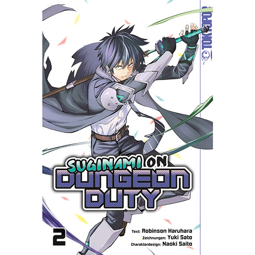 Suginami on Dungeon Duty - Band 2 (Manga | TokyoPop)