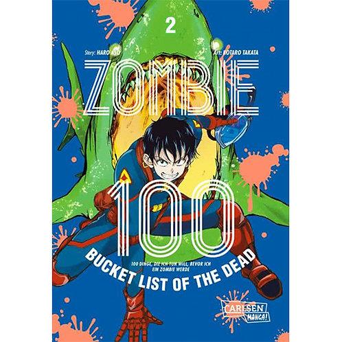 Zombie 100 – Bucket List of the Dead - Band 2 (Manga   Carlsen Manga)