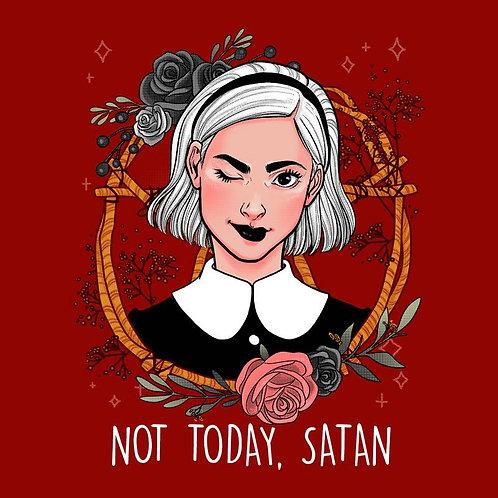 Not Today Satan (T-Shirt | Ladies S - XL)