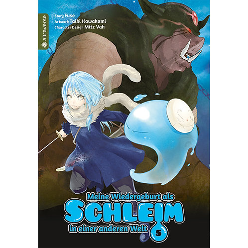 Meine Wiedergeburt als Schleim...  - Band 5 (Manga   altraverse)