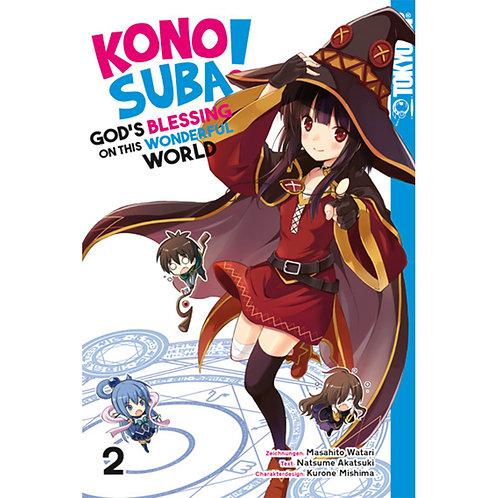 KONOSUBA! GOD'S BLESSING ON THIS WONDERFUL WORLD! - Band 2 (Manga | TokyoPop)