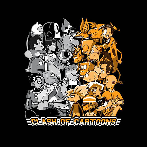 Clash of Toons (T-Shirt | Unisex S - 2XL)