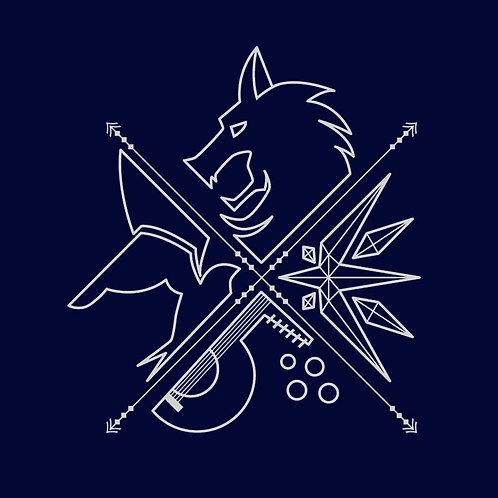 Minimal Witcher (T-Shirt   Unisex S - 3XL)