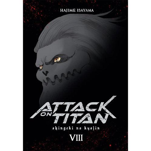 Attack on Titan Deluxe  - Band 8 (Manga | Carlsen Manga)