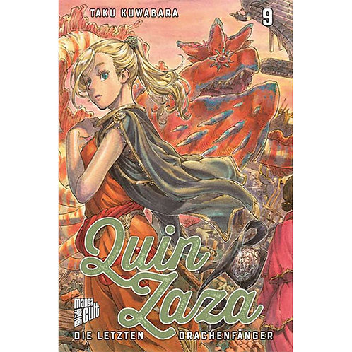 Quin Zaza - Die letzten Drachenfänger - Band 9 (Manga   Manga Cult)