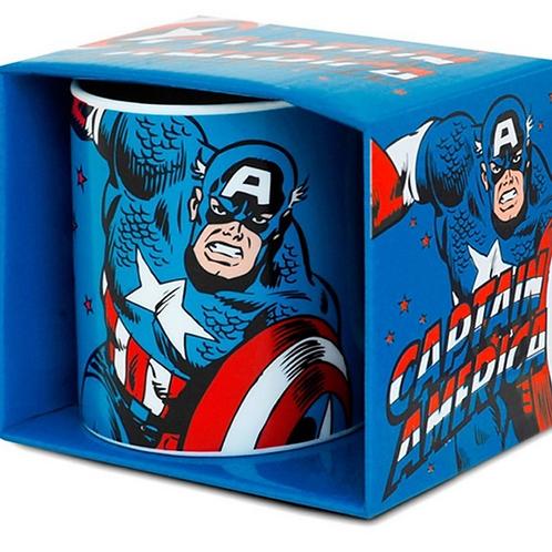Captain America - Retro - Tasse - Marvel