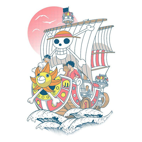 The Thousand Sunny (T-Shirt | Unisex S - 2XL)