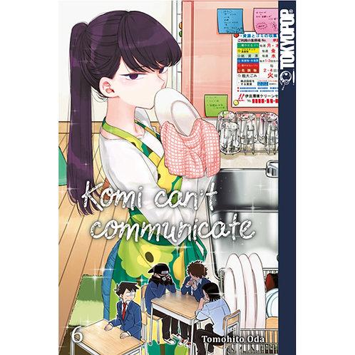 Komi can't communicate - Band 6 (Manga   Tokyopop)