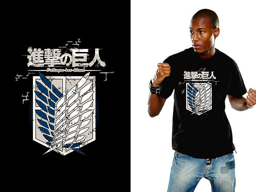 Attack On Titan - Crew Logo (T-Shirt - Unisex)
