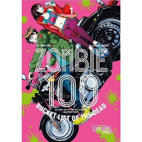 Zombie 100 – Bucket List of the Dead - Band 1 (Manga   Carlsen Manga)