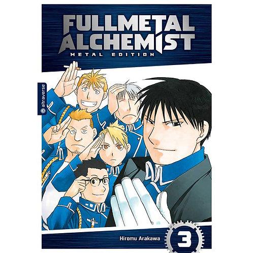 Fullmetal Alchemist Metal Edition - Band 3 (Manga | altraverse)