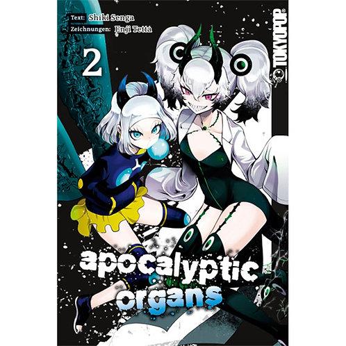 Apocalyptic Organs - Band 2 (Manga | TokyoPop)